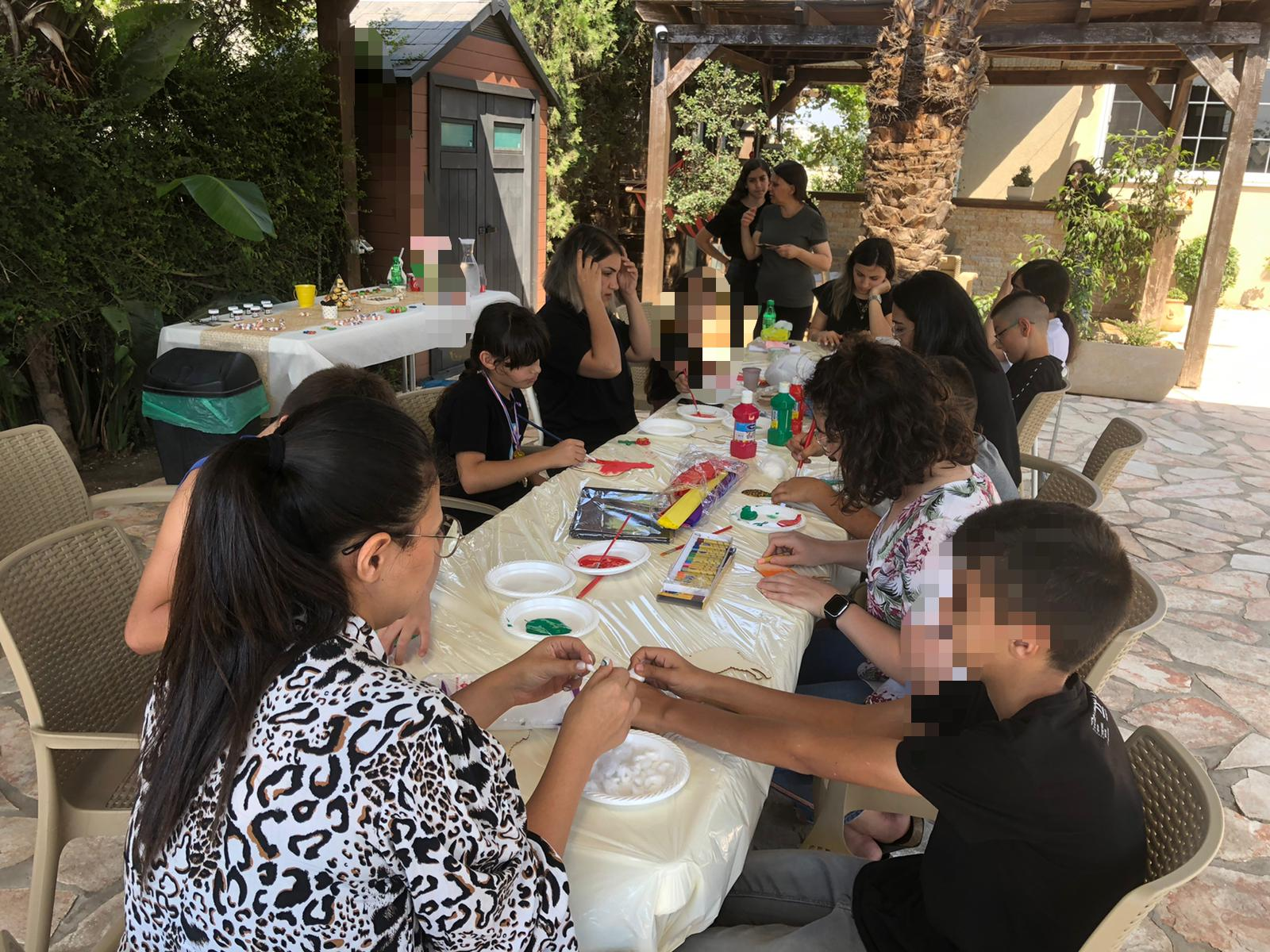 שבוע התנדבותי במרכז נור דאלית אלכרמל